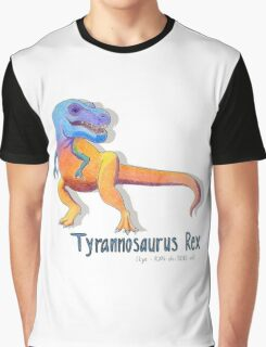 Tyrannosaurus Rex Rawrrrr Graphic T-Shirt