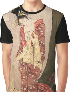 Reproduction Vintage Japanese painting  Graphic T-Shirt