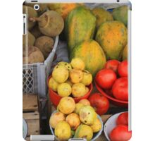 Exotic Fruits and Vegetables iPad Case/Skin