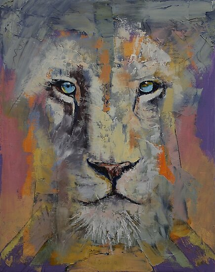 White Lion by Michael Creese