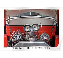 1940 Ford Coupe 'The Morning After' Poster