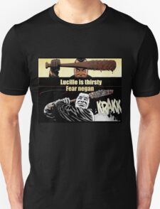 lucille is thirsty fear negan T-Shirt