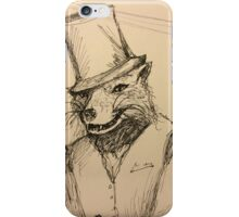 The Classy Fox iPhone Case/Skin