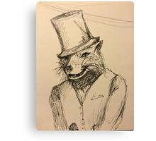 The Classy Fox Canvas Print