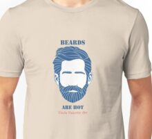 Beards are Hot Unisex T-Shirt