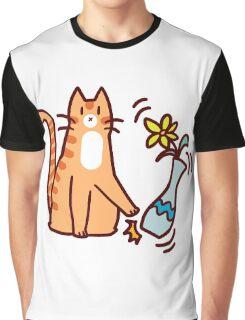 Jerk Cat Graphic T-Shirt