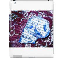 Paper Skull iPad Case/Skin
