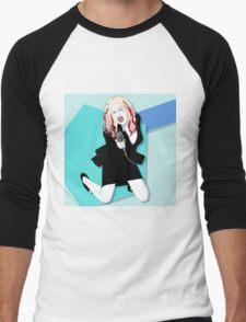 Cyndi Lauper No5 Men's Baseball ¾ T-Shirt