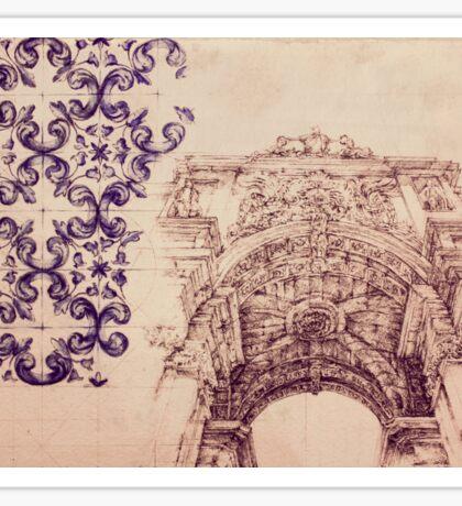 Art of Lisboa Sticker