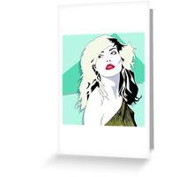 Debbie Harry No1 Greeting Card