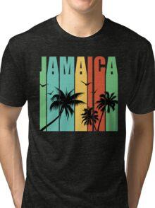 Jamaican Summer Vacation  Tri-blend T-Shirt