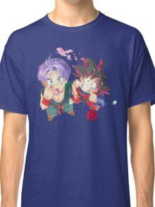 Trunks and Goten - watercolor Classic T-Shirt