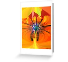 Abstract composition 116 Greeting Card