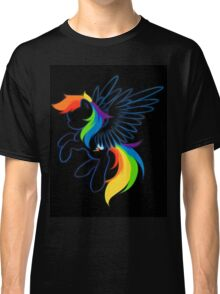 Rainbow Dash Abstract 2 Classic T-Shirt