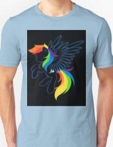 Rainbow Dash Abstract 2 T-Shirt