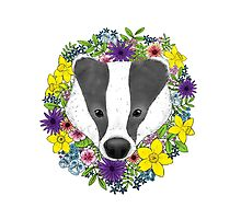 Spring Badger Photographic Print
