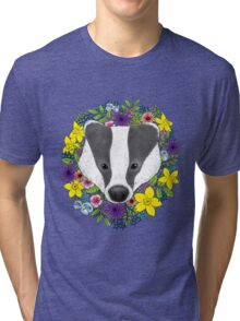 Spring Badger Tri-blend T-Shirt