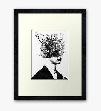 once in a life time Framed Print