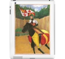 The Knight before Battle iPad Case/Skin
