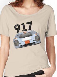 Porsche 917 Gulf Racing Women's Relaxed Fit T-Shirt