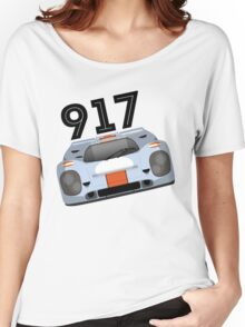 Porsche 917 Gulf Racing Women's Relaxed Fit T-Shirt
