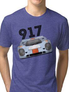 Porsche 917 Gulf Racing Tri-blend T-Shirt