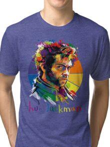 Hue Jackman Tri-blend T-Shirt