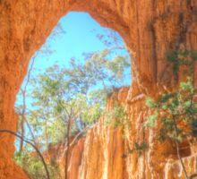 Through The Arch At Golden Gully Sticker