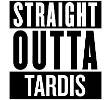 Straight Outta Tardis Photographic Print