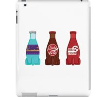 Nuka Cola Cherry and Quantum Set iPad Case/Skin