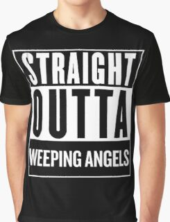 Straight Outta Weeping Angels Graphic T-Shirt