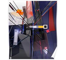 Abstract composition 124 Poster
