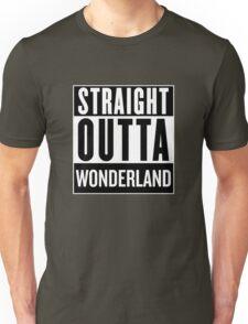Straight Outta Wonderland Unisex T-Shirt