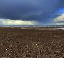 Stormy Day on the North East Coast by Ian Alex Blease