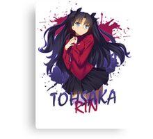 Fate Series - Tohsaka Rin Canvas Print