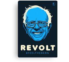 Bernie Sanders Revolt Canvas Print