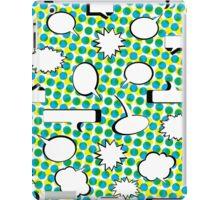 Comic Book Pow Green iPad Case/Skin