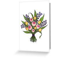 Boobquet Greeting Card