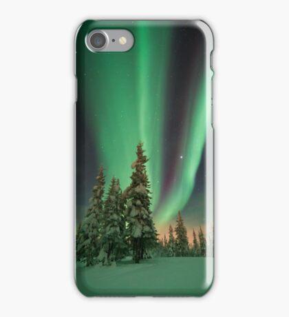Magic winter night iPhone Case/Skin