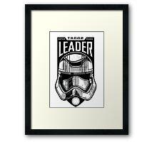 The Force Awakens Troop Leader Framed Print