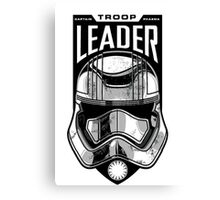 The Force Awakens Troop Leader Canvas Print