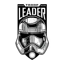 The Force Awakens Troop Leader Photographic Print
