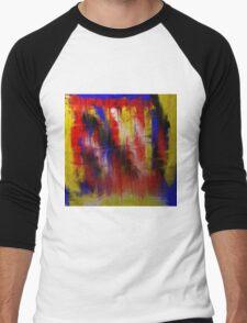 Abstract Primary Men's Baseball ¾ T-Shirt
