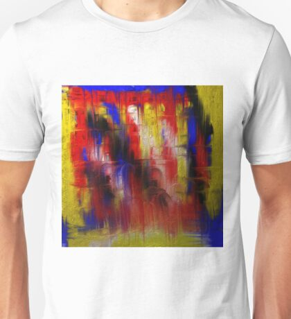 Abstract Primary Unisex T-Shirt