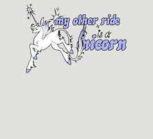 My Other Ride Is A Unicorn Womens Fitted T-Shirt