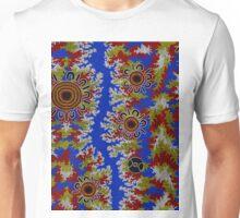 Aboriginal Art Authentic - Waterhole Dreaming (Corela) Unisex T-Shirt
