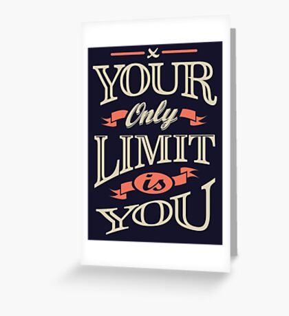 Motivational Quotes 01 Greeting Card