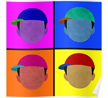 Minimalist/Andy Warhol Recreation of Ness - Comes in Everything Poster