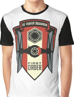 The First Order Fighter Squadron Graphic T-Shirt