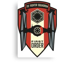The First Order Fighter Squadron Canvas Print